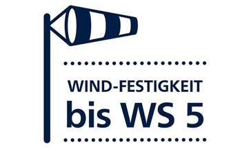 Sottezza 2 ist Windfest bis 5 Windstärken