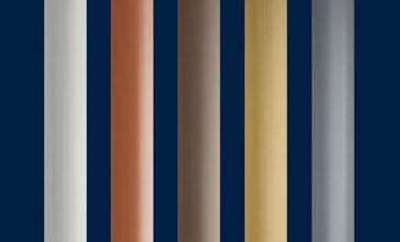 Terrazza Pure Dekorleisten in 5 Farbvarianten