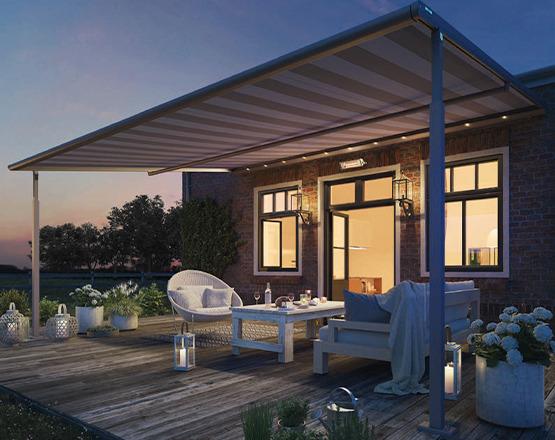 Markise finden für Terrasse oder Balkon