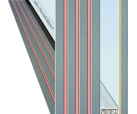 Einbruchschutz für Fenster mit Verbund-Sicherheitsglas VSG