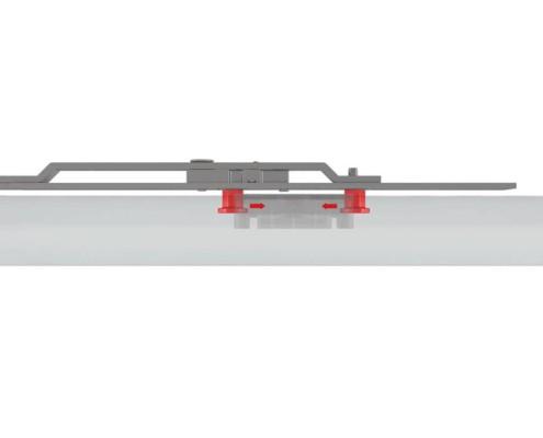 Einbruchschutz für Fenster mit Aushebel-Stop